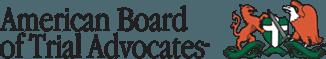 American Board Of Trial Advocates ABOTA.