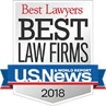 Best Lawyers Best Law Firms US News 2018.