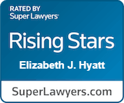 Elizabeth J Hyatt Rated Rising Stars By Super Lawyers.