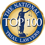 The National Top 100 Trial Lawyers.