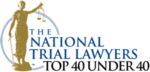 The National Trial Lawyers Top Forty Under Forty.
