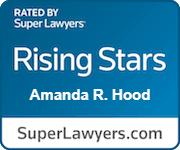 Amanda Pfeil Hood Rated Rising Stars By Super Lawyers.