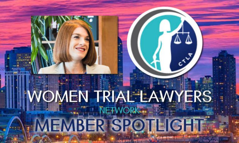 Melissa Winthers Women Trial Lawyers Network Member Spotlight.